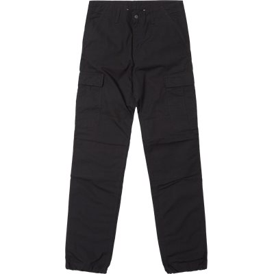 Regular | Trousers | Black